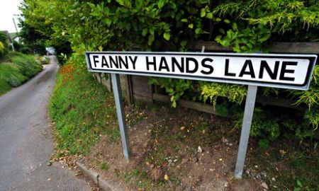 Fanny Hands Lane in Ludford, Lincolnshire